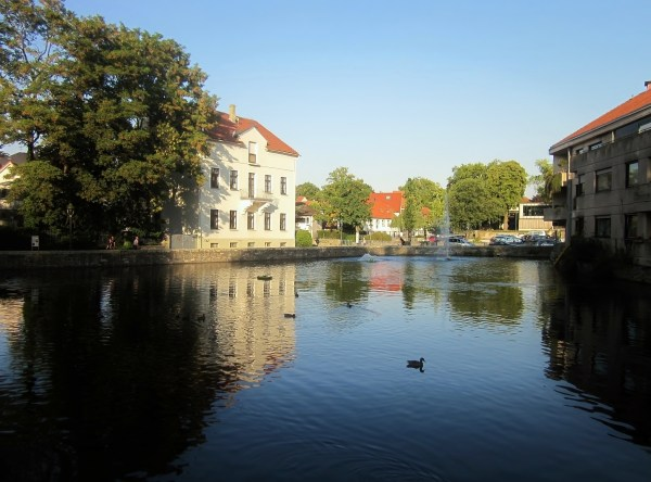 water shadows, soest germany