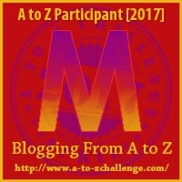MAMY BLUE | #AtoZChallenge