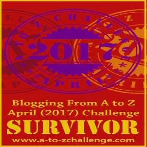A to Z Challenge 2017 Survivor