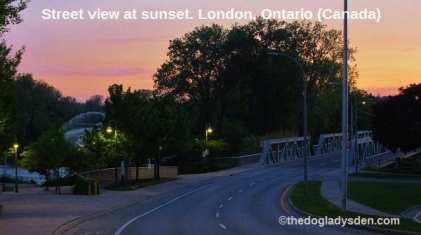 London sunset 2