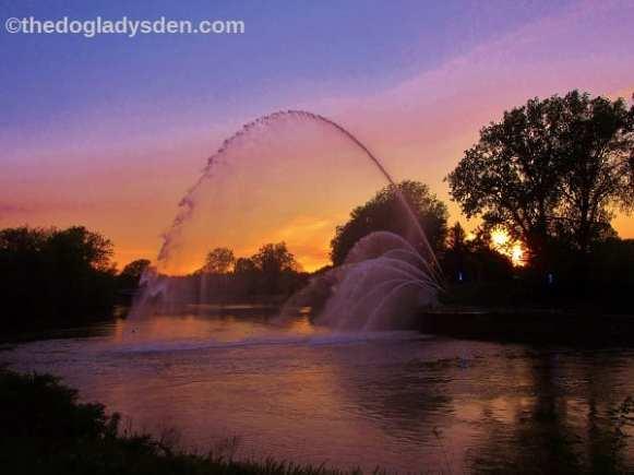 London - Thames River sunset