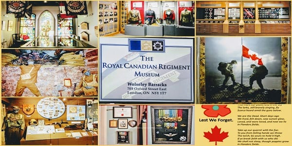 Remembrance Day in Canada Collage