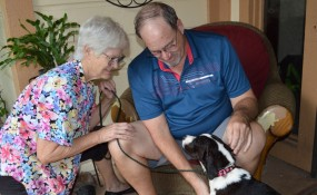 Petals, now Gracie, is adopted!