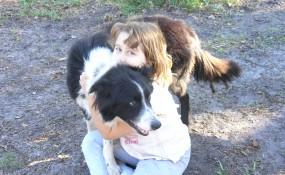 Sarah with Jet 2009