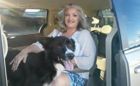 Duke with Meggie!