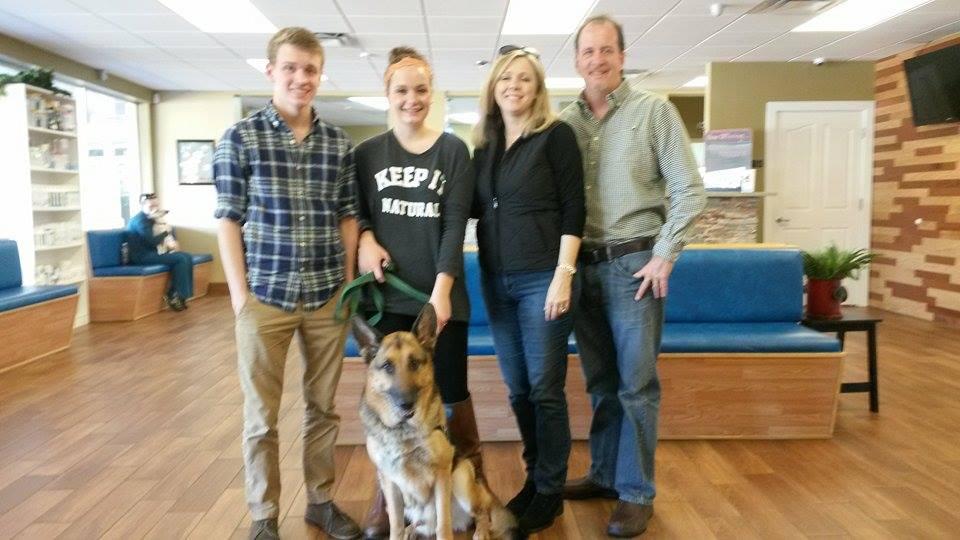 PTSD Trained German Shepherd ~ Adopted!