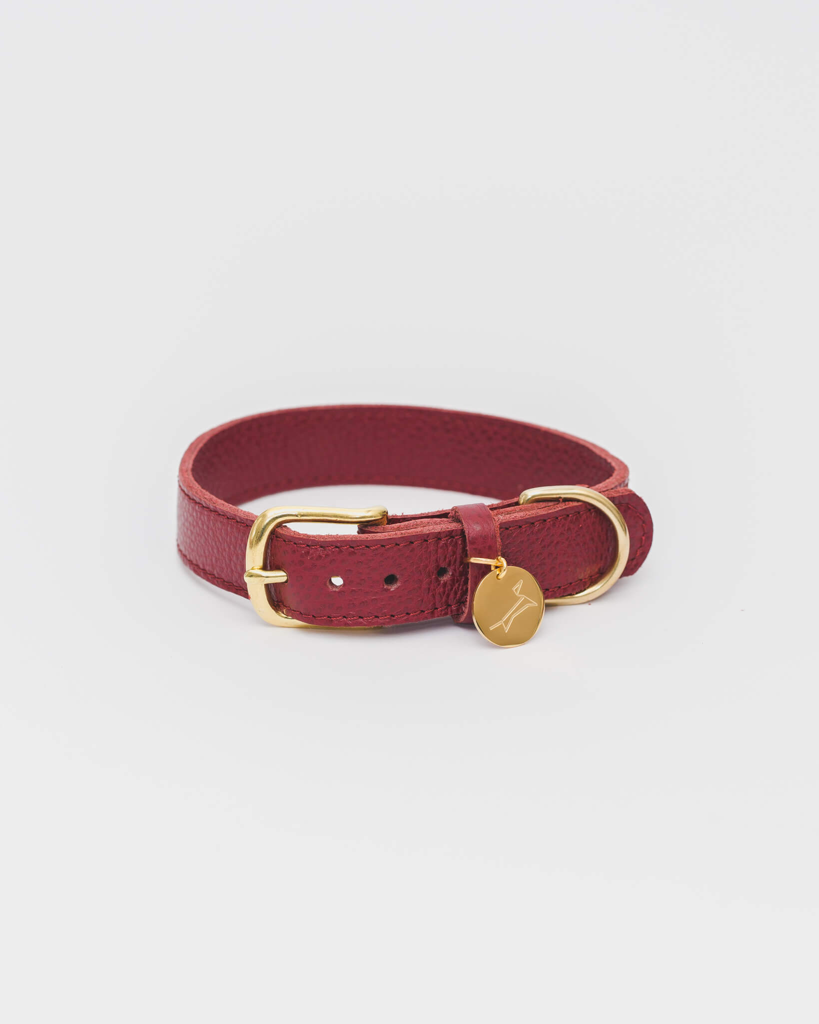 The Dog Musthaves - Collar Burgundy Large