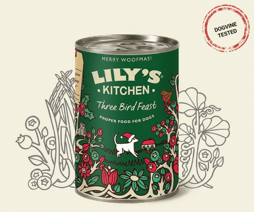 Christmas Dog Gifts - Lily's Kitchen Three Bird Feast