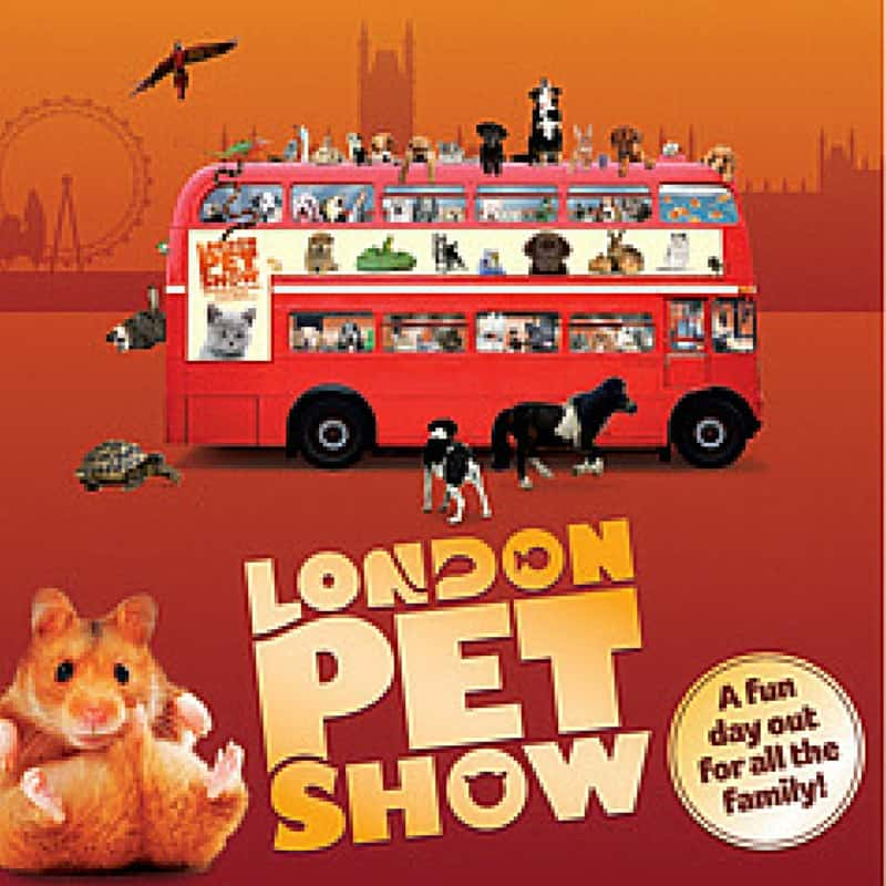 What's On: London Pet Show 9-10 May 2015