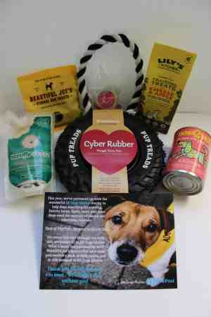 Pawpost Monthly Pet Box - Contents