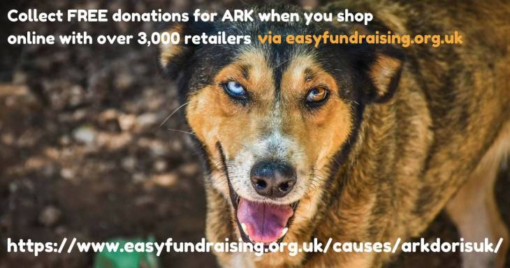 FB ARK Doris UK Easy Fundraising