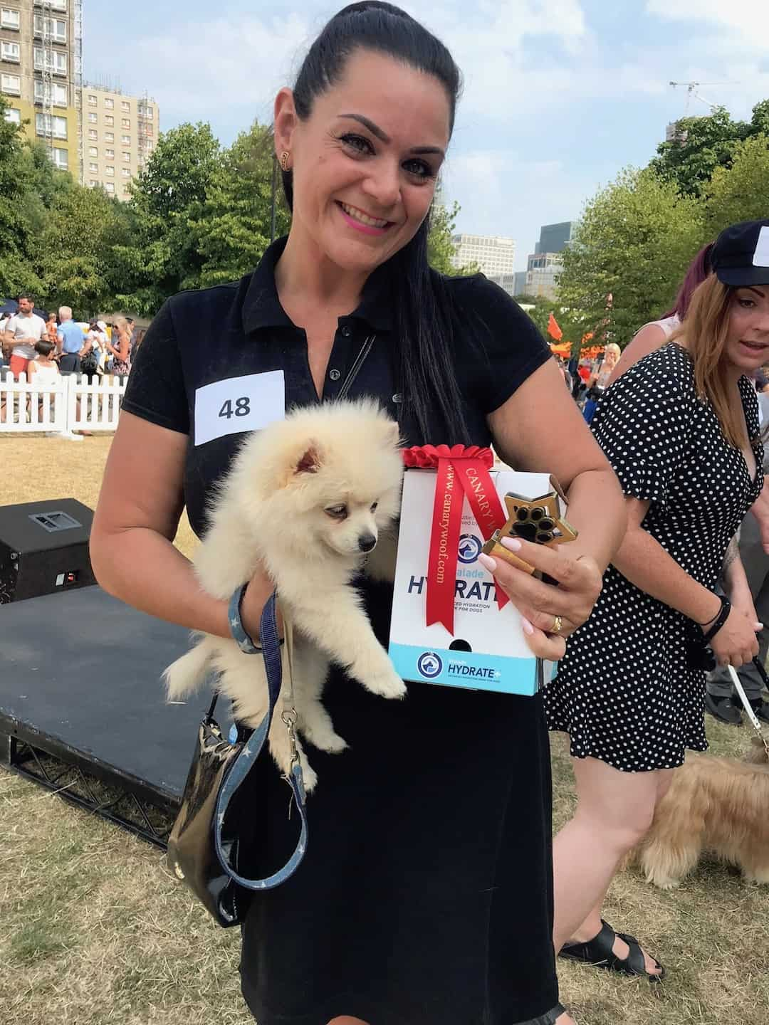 All Things Dog At The Canary Woof Dog Show 2018 - Prince wins Oralade Hydrate+