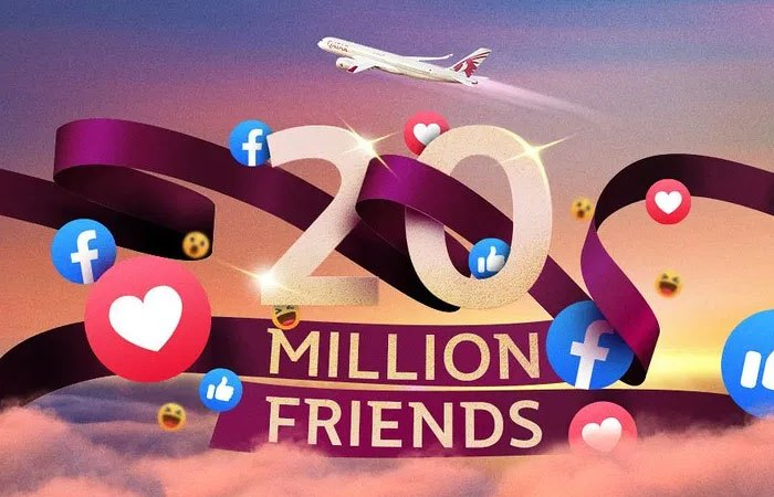 Qatar Airways most followed airline on Facebook