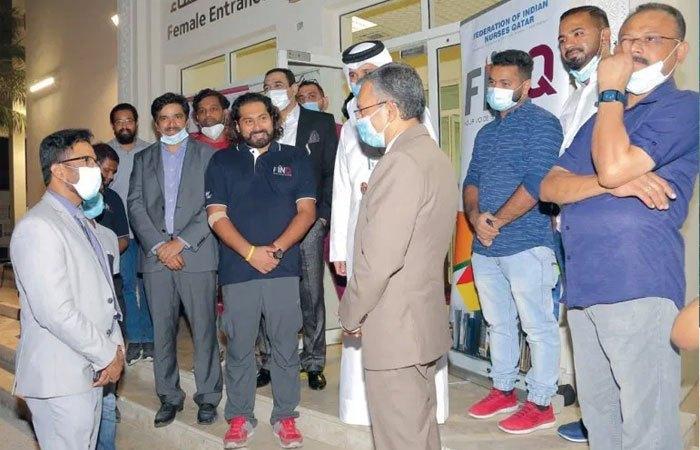 Federation of Indian Nurses Qatar holds blood donation camp