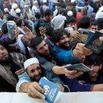 At least 25 killed in Afghan stampede for Pakistan visas