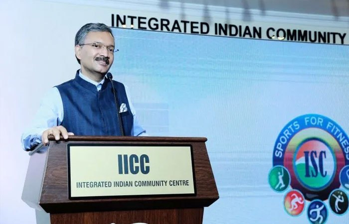 Indian ambassador inaugurates ISC Year of Sports campaign