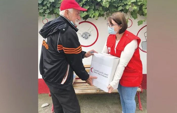 QRCS helps Albanian families affected by Covid-19