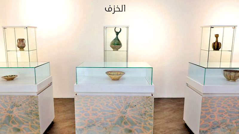 """The Cultural Village Foundation, """"Katara"""", opened an exhibition """"Collectibles of Islamic Art Pieces"""" by Ibrahim Fakhro"""