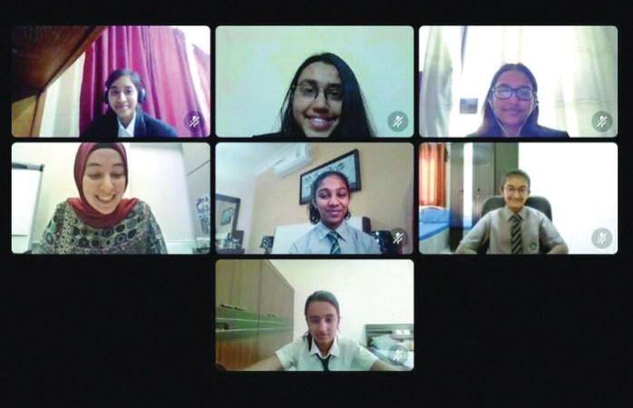 DPS-Modern Indian School performs strongly in debate