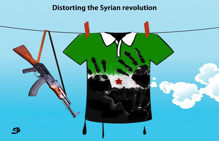 Distorting the Syrian Revolution