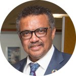 WHO chief Tedros Adhanom