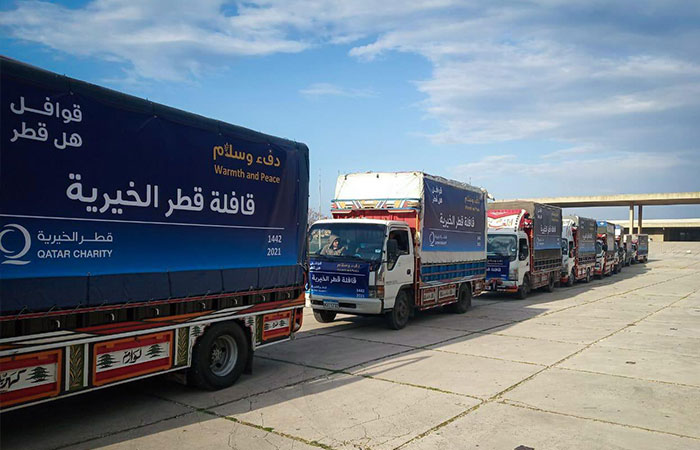 """Qatar Charity launches the third phase of the """"Will Qatar"""" caravan campaign in Lebanon"""