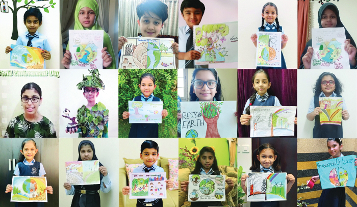 Ideal Indian School observes World Environment Day