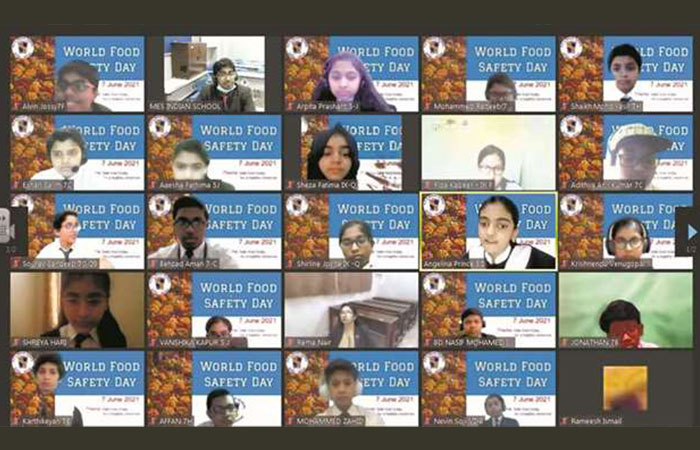 MES Indian School observes World Food Safety Day
