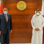 Foreign Minister meets with Egypt counterpart