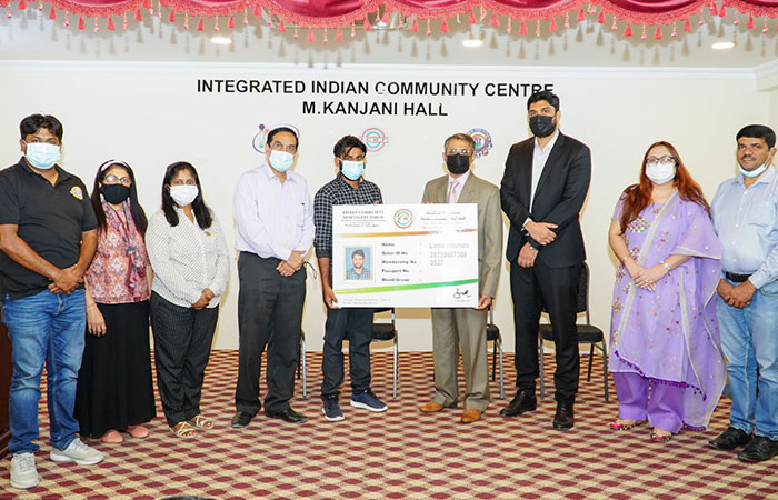 ICBF honours Indian expat who offers free rides to people in distress