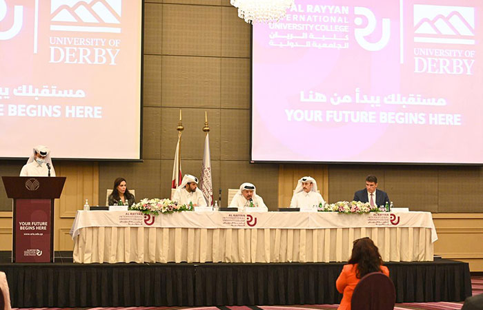 Al Rayyan International University College launched in partnership with University of Derby