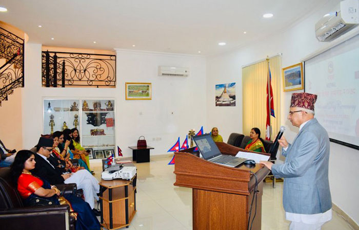 Nepal Embassy celebrates National Day, Constitution Day