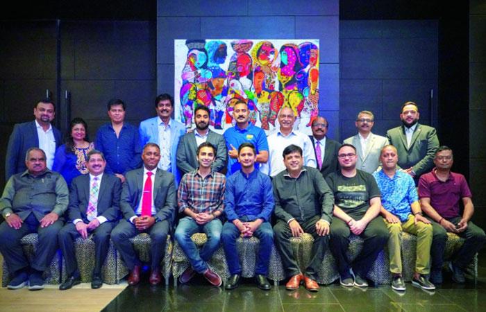 ISC felicitates Indian national snooker team