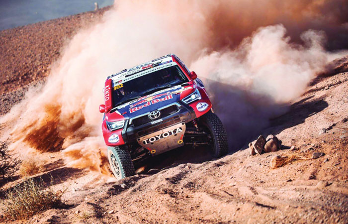Attiyah continues to lead at Rally of Morocco