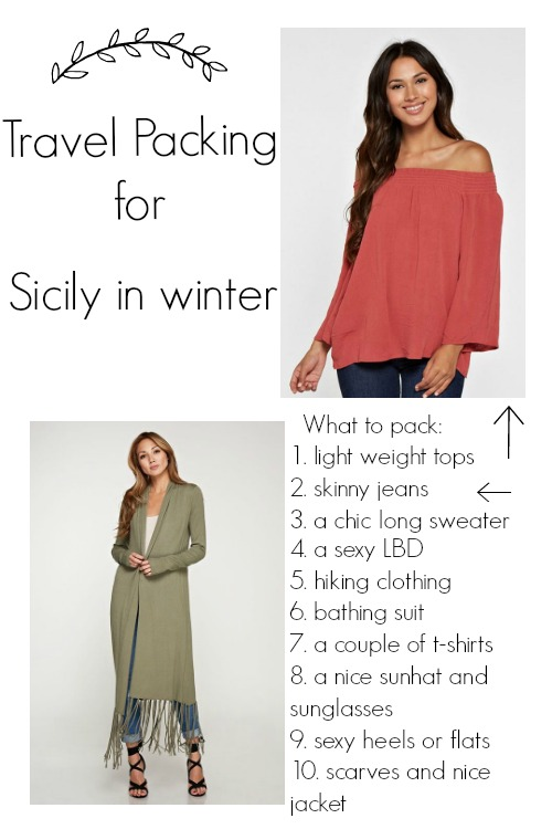 #travelpacking #sicily