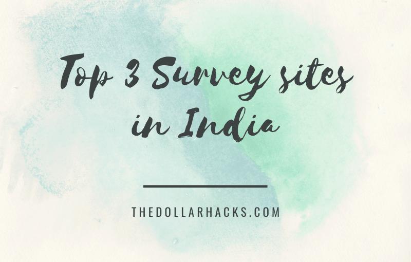 Top 3 survey sites in India