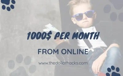 This is how I am averaging 1000$ per month!
