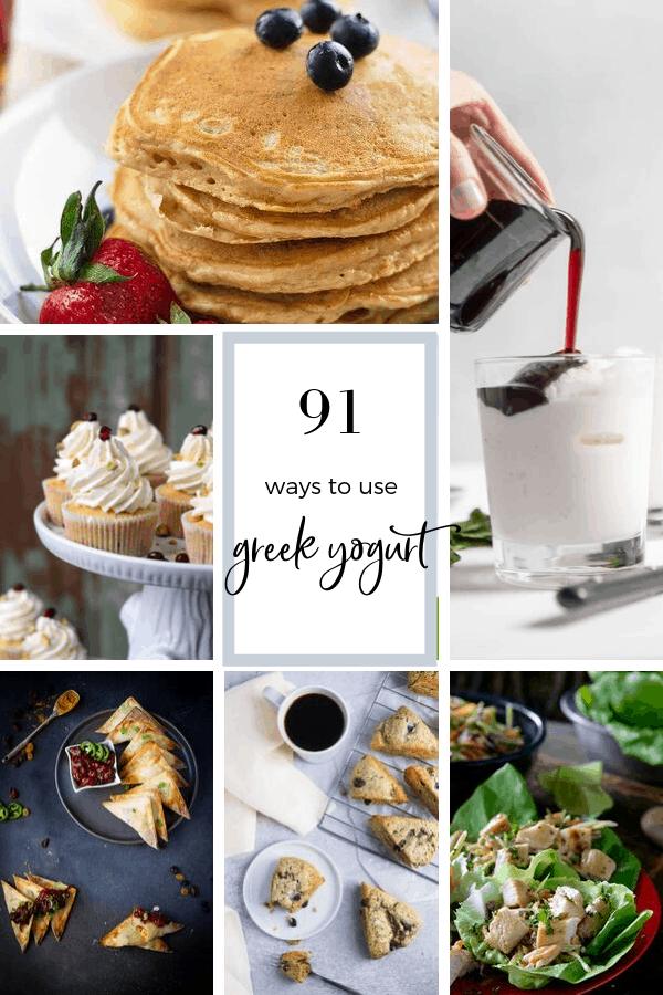 91 ways to use greek yogurt