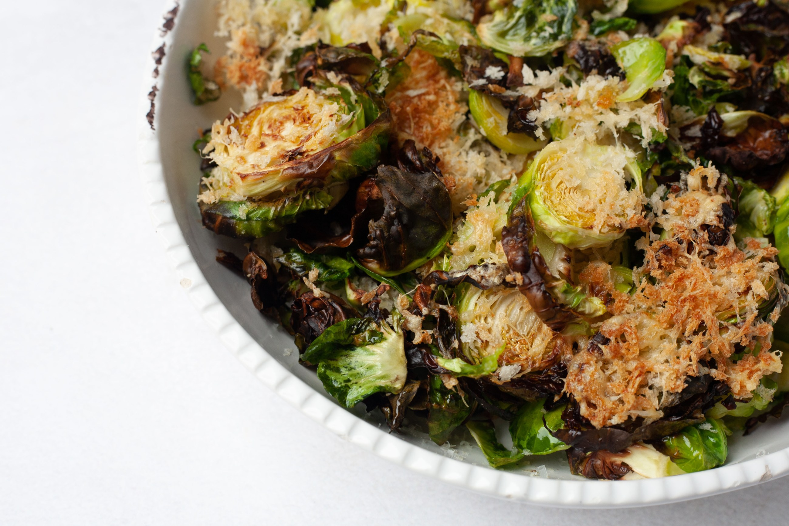 brussels sprouts air fryer recipe close up