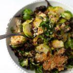parmesan brussels sprouts air fryer recipe
