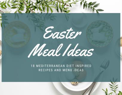 easter menu ideas for mediterranean diet