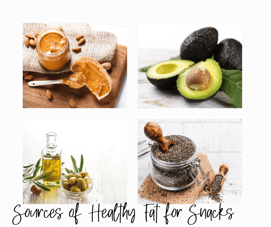 healthy fat sources for snacks