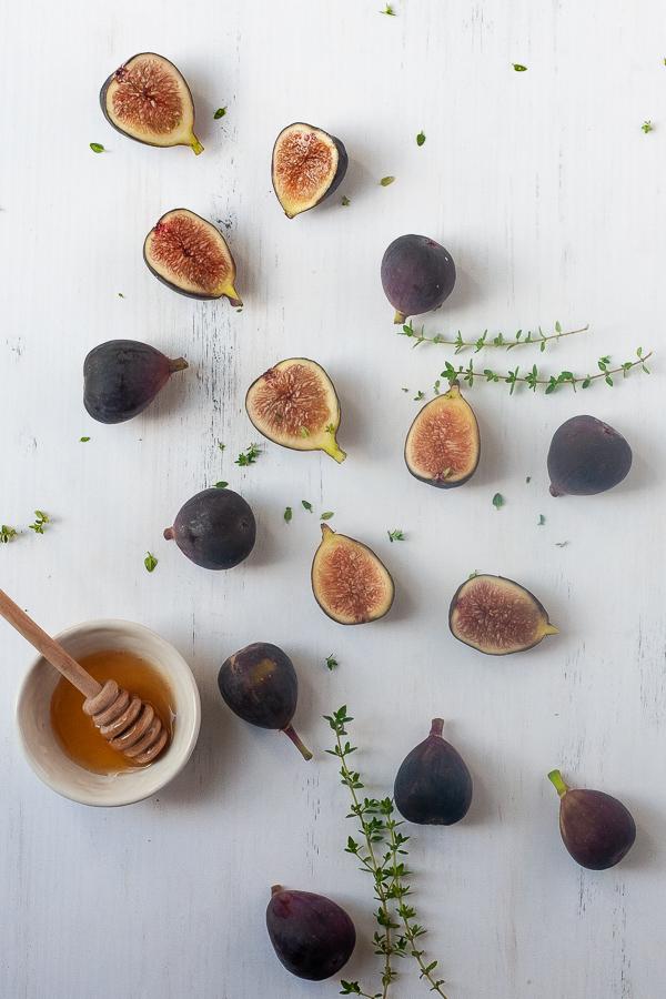 fresh fig snack