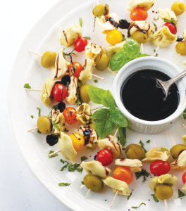 tortellini bite mediterranean snack