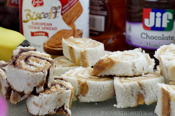 Back to School Lunch Idea:  Sandwich Sushi Bento Box