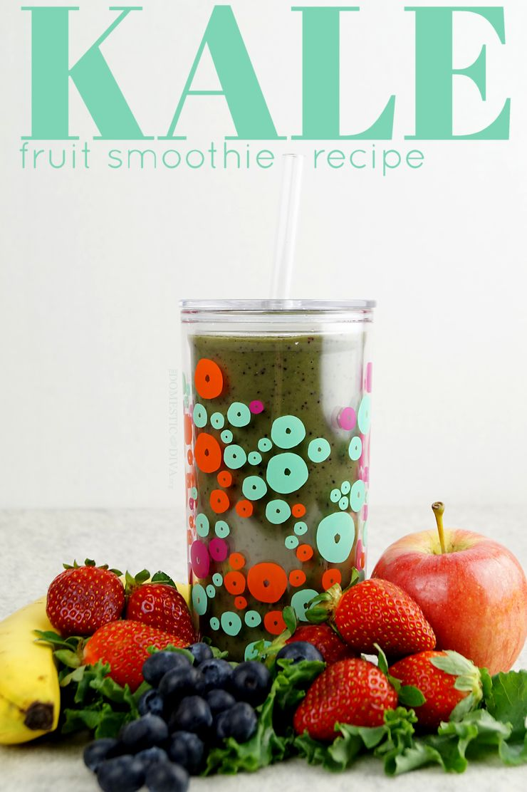Kale Fruit Smoothie Recipe