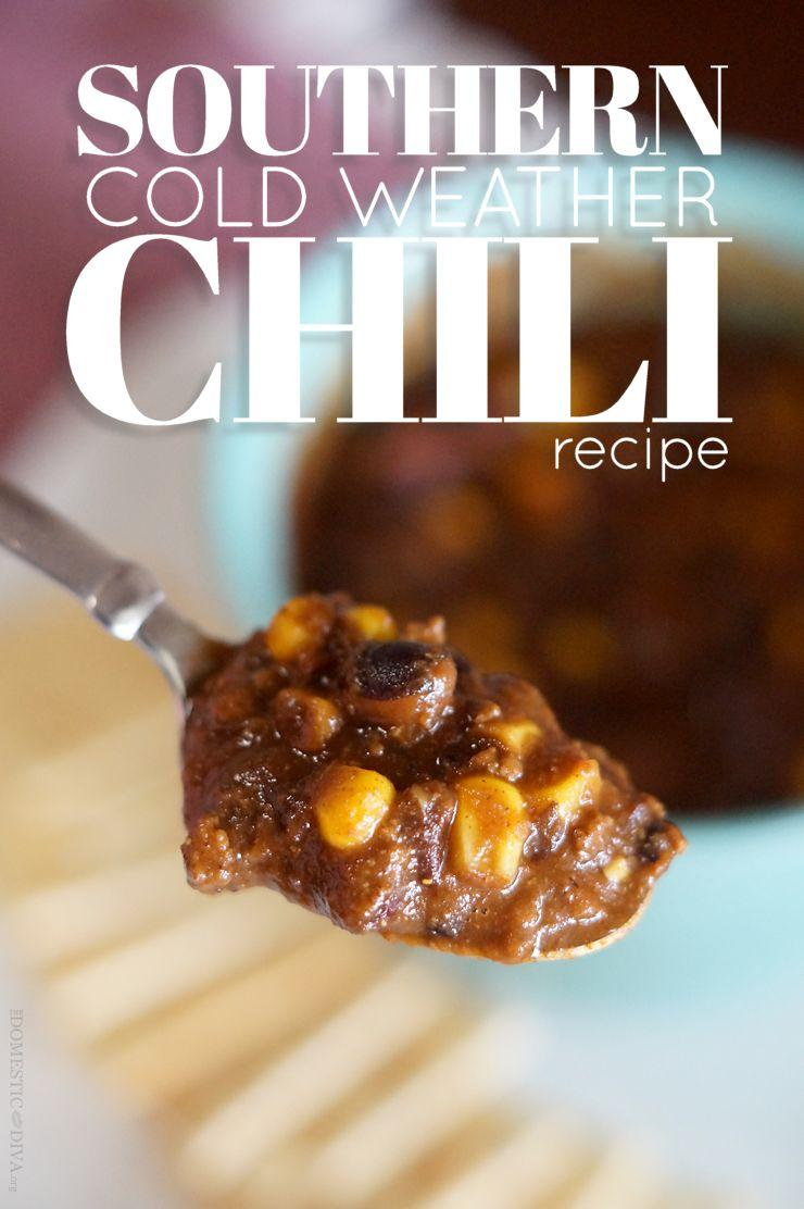 Southern Cold Weather Chili Recipe