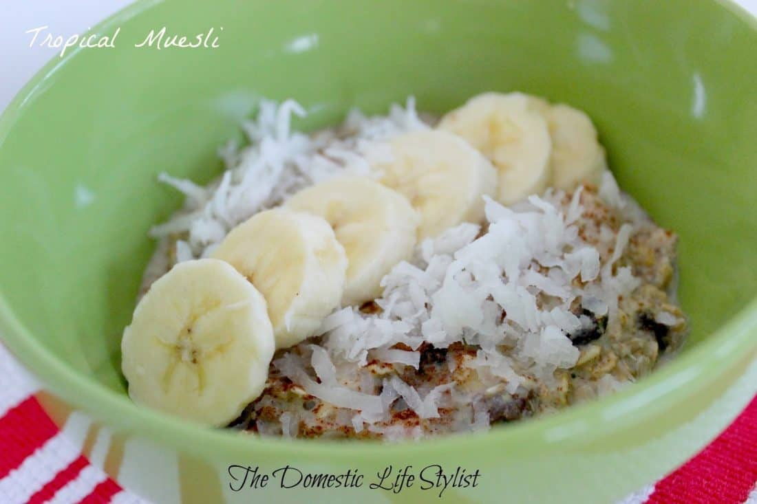 Tropical muesli