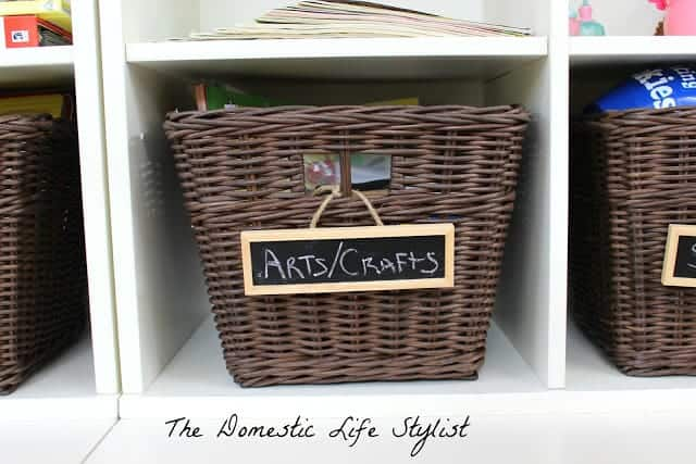 Basket of arts and crafts