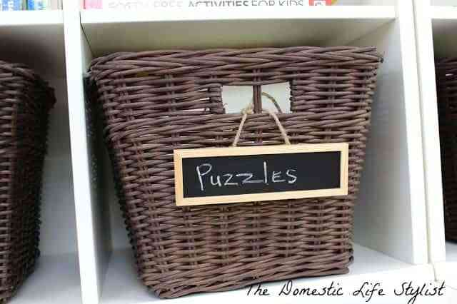 basket of puzzles